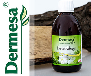 kwiat Głogu 250ml Dermesa