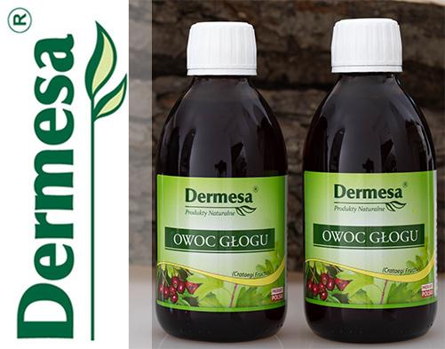 Owoc Głogu 250ml Dermesa